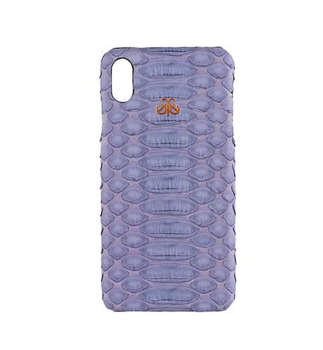 - S6 EGZOTİK IPHONE XS MAX KILIF LİLA PİTON