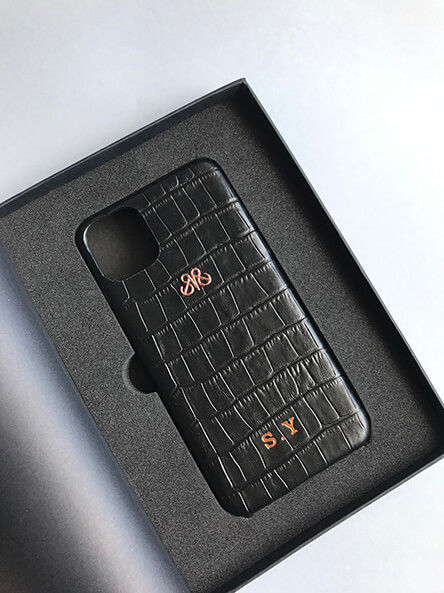 S6 IPHONE 11 PRO MAX SİYAH CROCO