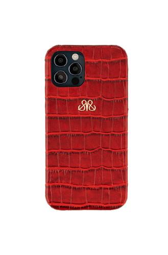 - S6 IPHONE 12 PRO MAX KIRMIZI CROCO